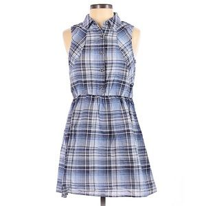Doe & Rae plaid shirt dress